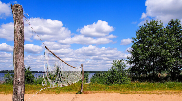 Bungis Volleyball Am Grimnitzsee